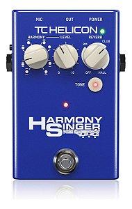 Pedal De Efeito Tc Helicon Processador De Voz Harmony Singer 2