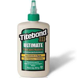 Super Cola Para Madeira Wood Glue Titebond III Ultimate 263G