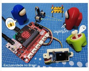 Placa de expansão para micro:bit V1/V2