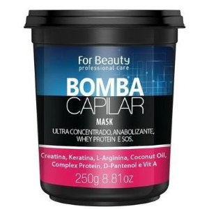 For Beauty Bomba Capilar Máscara 250g