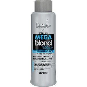 Forever Liss Máscara Matizadora Mega Blond Black 500ml