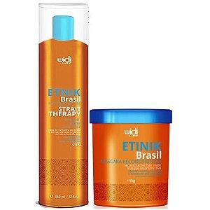 Widi Care Etnik Brasil Gloss Progressiva com Máscara (2 itens)