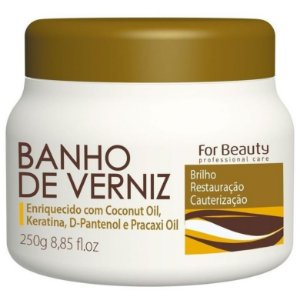 For Beauty Banho de Verniz Máscara 250g