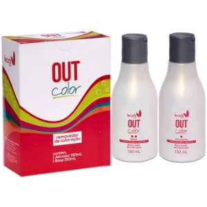 Leads Care Out Color Kit Removedor Colocação (2x150ml)