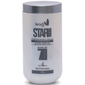 Leads Care Star Color Platinum Ultra Rápido 7 Pó Descolorante 500g