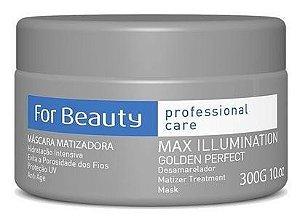 For Beauty Golden Perfect Máscara Matizadora 300g
