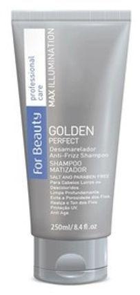 For Beauty Golden Perfect Shampoo Matizador 250ml