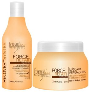 Forever Liss Force Repair Kit Shampoo e Máscara  (2 itens)