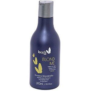 Leads Care Blond Me Shampoo Manutenção 300ml