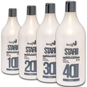 Leads Care Star Color Creme Oxidante 10, 20, 30 e 40 Volumes