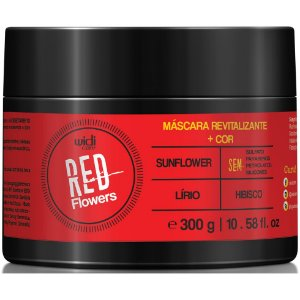 Widi Care Red Flowers Máscara Revitalizante 300g
