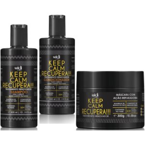 Widi Care Keep Calm Recupera! Tratamento Renovador (3x300ml/g)