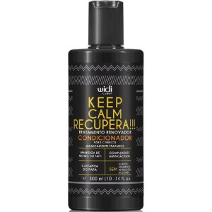 Widi Care Keep Calm Recupera! Tratamento Renovador Condicionador 300ml