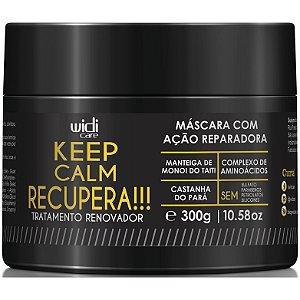 Widi Care Keep Calm Recupera! Tratamento Renovador Máscara 300g