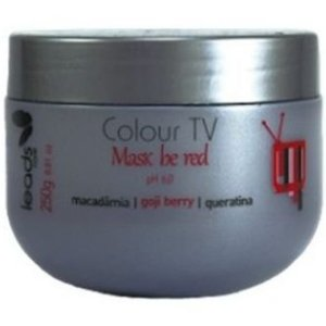 Leads Care Colour TV Be Red Máscara Tonalizante Vermelho Mogno 250g