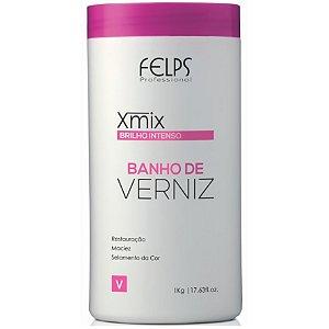 Felps Xmix Banho de Verniz Brilho Intenso 1Kg