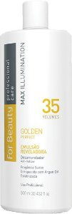 For Beauty Golden Perfect Água Oxigenada 35 volumes 900ml