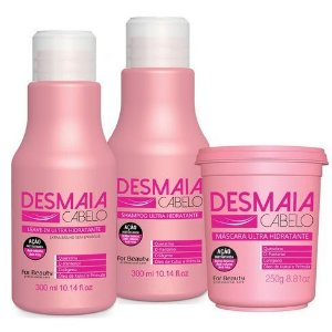 For Beauty Desmaia Cabelo Kit com Máscara de 250g (3 itens)