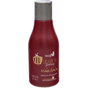 Leads Care Máscara Tonalizante Colour TV Marsala 150ml