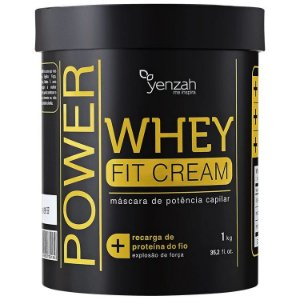Yenzah Power Whey Fit Cream Máscara 1kg