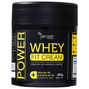 Yenzah Power Whey Fit Cream Máscara 480g