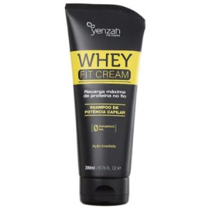 Yenzah Power Whey Fit Cream Shampoo 200ml
