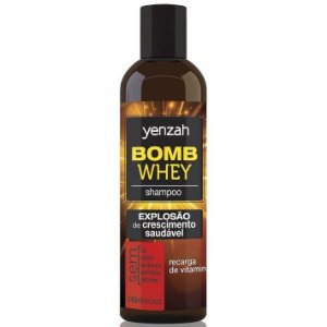 Yenzah Whey Bomb Cream Shampoo 240ml