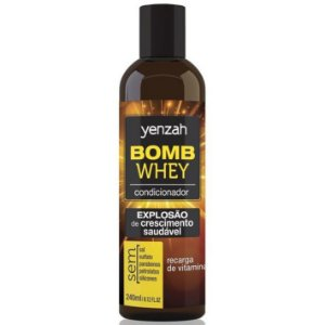 Yenzah Whey Bomb Cream Condicionador 240ml