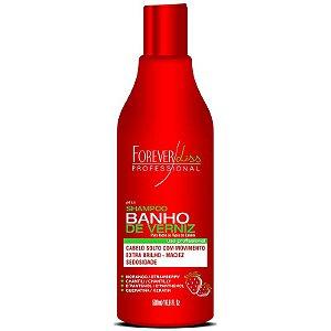 Forever Liss Banho de Verniz Shampoo Morango 500ml