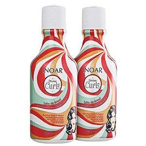 Inoar Divine Curls Shampoo e Condicionador (2x250ml)