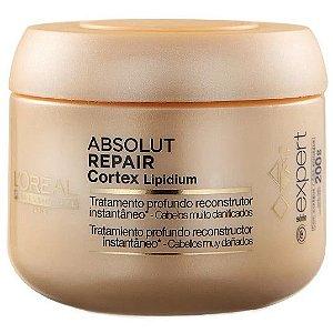 L'Oréal Absolut Repair Cortex Lipidium Reconstrutor Instantâneo Máscara 200g