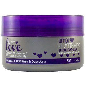 Is My Love Amor Platinado Redutor de Volume 250g