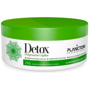 Plancton Detox Oxigenação Capilar Máscara 250g