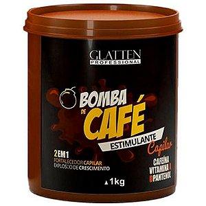 Glatten Bomba de Café Máscara Estimulante Capilar 1kg