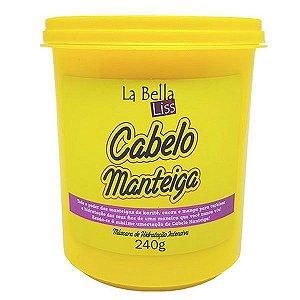 La Bella Liss Cabelo Manteiga Hidratação Máscara 240g