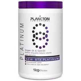 Plancton Redutor de Volume Argan Oil & Ojon Oil Btx Platinum 1kg