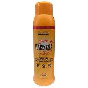 Glatten Maizzena para Cabelo Shampoo 500ml