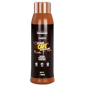Glatten Bomba de Café Estimulante Capilar Shampoo 500ml