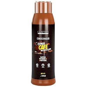 Glatten Bomba de Café Estimulante Capilar Condicionador 300ml