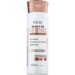 Ykas Banho de Verniz Brilho Máximo Shampoo 300 ml