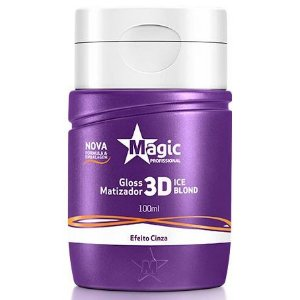 Magic Color Gloss Matizador 3D Ice Blond - Efeito Cinza - 100ml