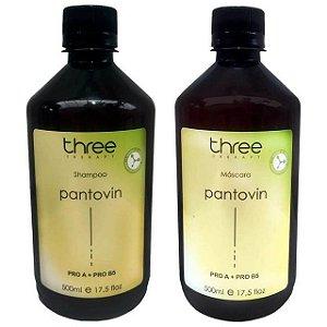 Three Therapy Pantovin Kit Fortalecimento Capilar (2x500ml)