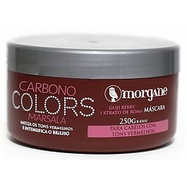 Morgane Máscara Carbono Colors Marsala 250g