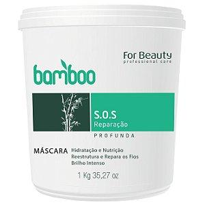 For Beauty Bamboo SOS Recuperação Máscara 1kg