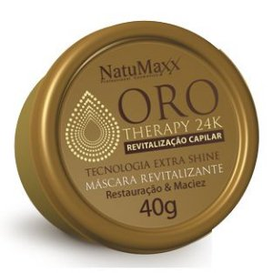 NatuMaxx Oro Therapy 24k Máscara Revitalizante 40g