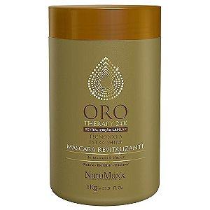 NatuMaxx Oro Therapy 24k Máscara Revitalizante 1kg
