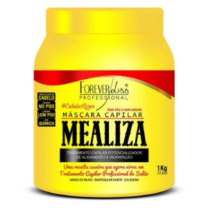 Forever Liss Maizena Capilar MeAliza Máscara 1kg