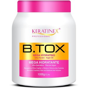 Keratinex Mega Hidratante B.tox Capilar 1kg