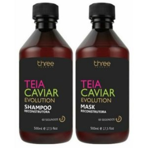 Three Therapy Teia Caviar Reconstrutor Kit 2x500ml
