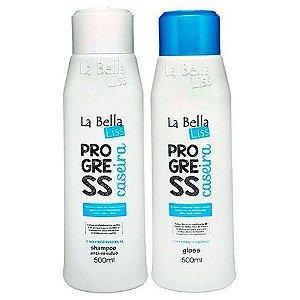 La Bella Liss Escova Progressiva Caseira 2x500ml